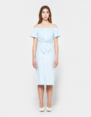 Farrow Maria Button Down Dress In
