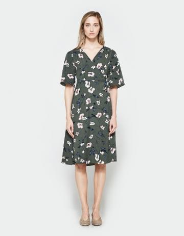Farrow Loretta Wrap Dress