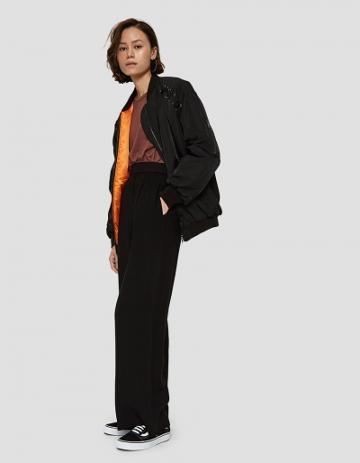 Farrow Illia Bomber Jacket In Black
