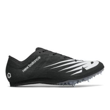 New Balance Md500v7 Men's & Women's Track Spikes Shoes - Black/white (umd500b7)