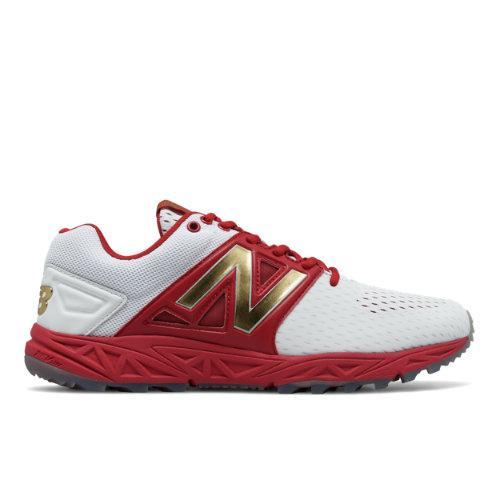New Balance Turf 3000v3 Playoff Pack Men\u0027s Turf Shoes - Red/white (t3000p23)