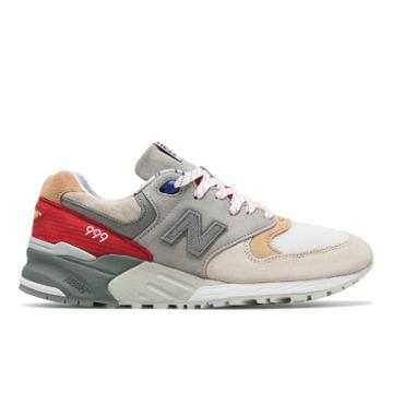 New Balance X Concepts 999 Men's Made In Usa Shoes - White/grey (m999cp2)