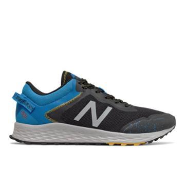 New Balance Fresh Foam Arishi Trail Men's Trail Running Shoes - Black/blue/grey (mtarisg1)