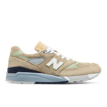 New Balance 998 Made In The Usa Men's Made In Usa Shoes - Tan (m998xaa)