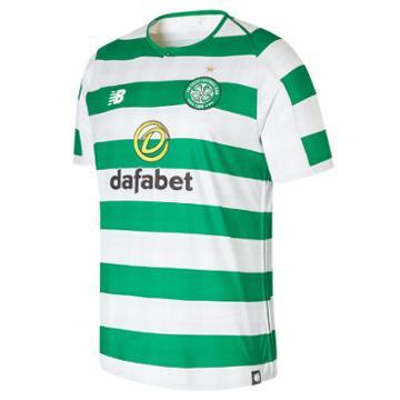 New Balance 830058 Men's Celtic Fc Home Short Sleeve Jersey - (mt830058)