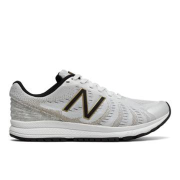 New Balance Fuelcore Rush V3 Viz Pack Women's Speed Shoes - White/black/gold (wrushsw3)