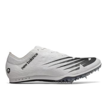 New Balance Md500v7 Men's & Women's Track Spikes Shoes - White/black (umd500w7)