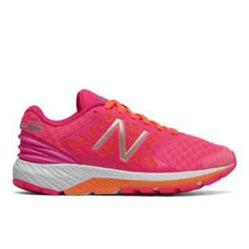 New Balance Fuelcore Urge V2 Kids Grade School Running Shoes - Pink/orange (kjurgpky)