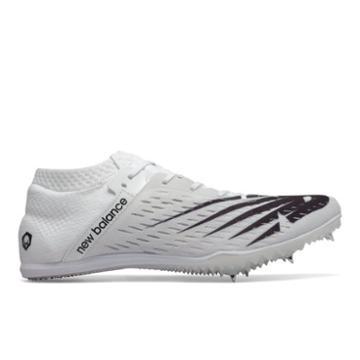 New Balance Md800v6 Men's & Women's Track Spikes Shoes - White/black (umd800w6)