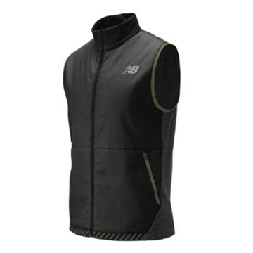 New Balance 01274 Men's Nb Heat Grid Vest - Grey/black (mv01274bkh)