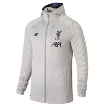 New Balance 931016 Men's Liverpool Fc Travel Full Zip Hoodie - (mj931016)