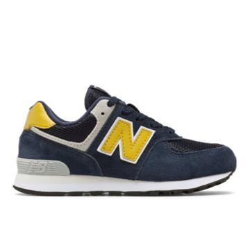 New Balance 574 Kids Grade School Lifestyle Shoes - (gc574-b)