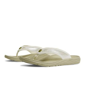 New Balance Revitalign 6046 Women's Flip Flops Shoes - Beige (w6046bei)