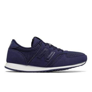 New Balance 420 Women's Running Classics Shoes - Navy/silver (wl420crz)