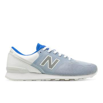 696 New Balance Women's Running Classics Shoes - Blue/white (wl696rbb)