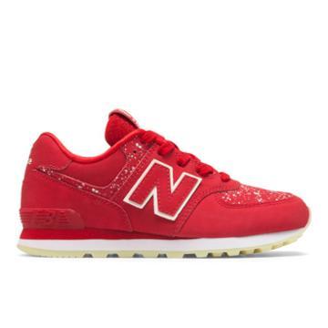 New Balance 574 Glow In The Dark Kids' Pre-school Lifestyle Shoes - (pc574-gdb)