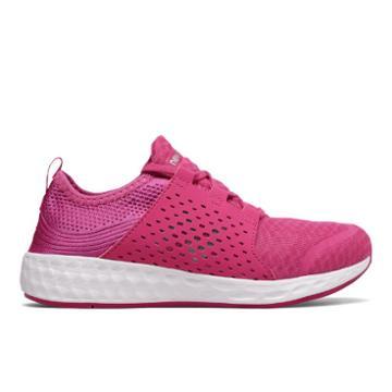New Balance Cruz Sport Kids' Pre-school Running Shoes - Pink (kjcrzpkp)