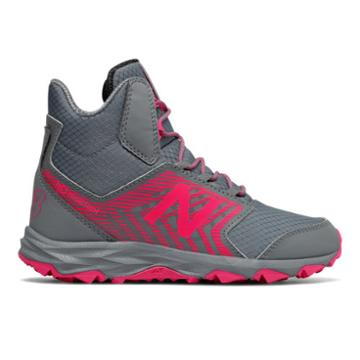 New Balance 700 Trail Kids Grade School Running Shoes - Grey/pink (kh700pgy)