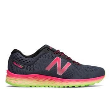 New Balance Fresh Foam Arishi Women's Soft And Cushioned Shoes - Grey/pink (warislt1)