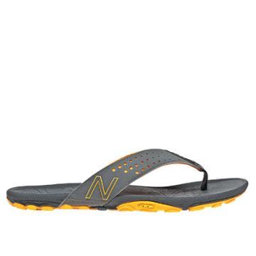 New Balance Minimus Vibram Thong Men's Flip Flops Shoes - Titanium, Yellow (m6031tim)