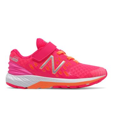 New Balance Hook And Loop Fuelcore Urge V2 Kids' Pre-school Running Shoes - Pink/orange (kvurgpkp)