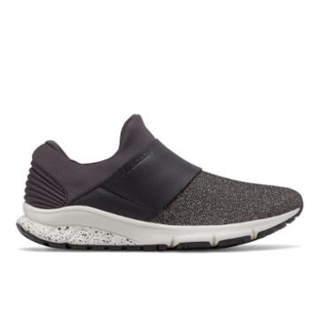 New Balance Fuelcore Rush Slip-on Women's Sport Style Shoes - Black/off White (wlrushve)