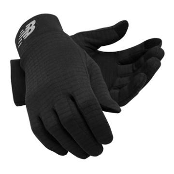 New Balance Men's & Women's Grid Fleece Glove - Black (nb2014bk)