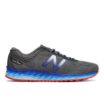 New Balance Fresh Foam Arishi Men's Soft And Cushioned Shoes - Grey/blue (marislg1)