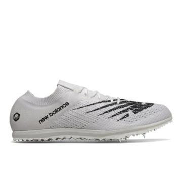New Balance Ld5kv7 Men's & Women's Track Spikes Shoes - White/black (uld5kwb7)