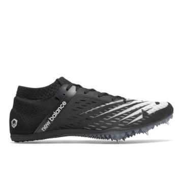 New Balance Md800v6 Men's & Women's Track Spikes Shoes - Black/white (umd800b6)