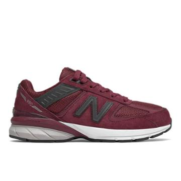 New Balance 990v5 Kids' Pre-school Lifestyle Shoes - Red/navy (pc990bu5)