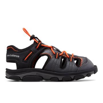 New Balance Adirondack Sandal Kids Grade School Sandals - Black/orange (k2029bon)