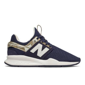 New Balance 247 Geo Metallic Women's Sport Style Shoes - (ws247h-v2gm)