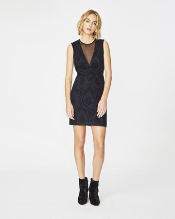 Nicole Miller Petal Lace Dress