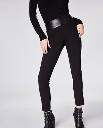 Nicole Miller Leather Nina Pant