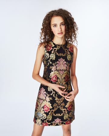 Nicole Miller Juno Lace Up Dress