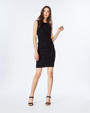 Nicole Miller Lauren Ponte Dress - Bk