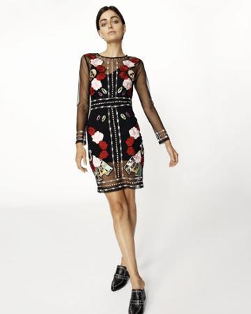 Nicole Miller Fortune Teller Dress