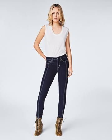 Nicole Miller Front Seam Skinny Jeans