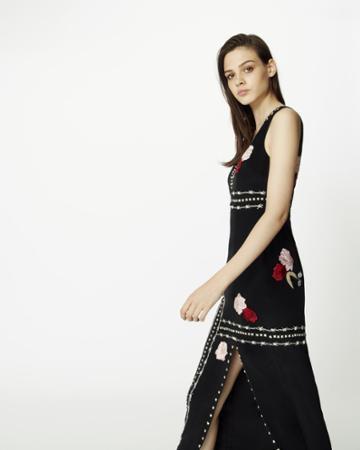 Nicole Miller Fortune Teller Gown
