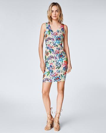 Nicole Miller Tropic Split Keena Dress