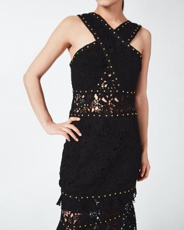Nicole Miller Criss Cross Dress