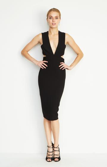 Nicole Miller Carlessa Cut Out Dress