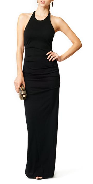 Nicole Miller Adel Cupro Modal Gown