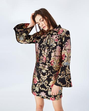 Nicole Miller Primrose Bell Sleeve Jacket
