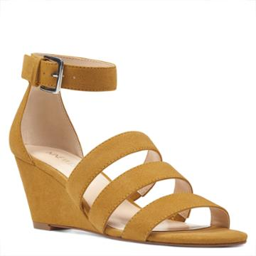 Nine West Nine West Ilookatu Ankle Strap Wedges