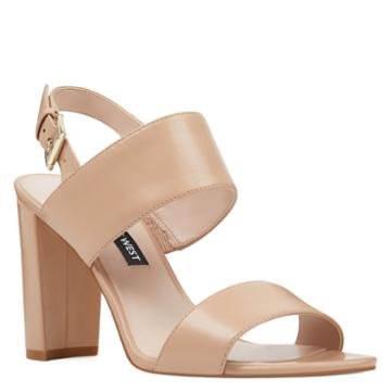 Nine West Nine West Narolyn Block Heel Sandals
