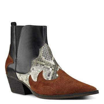 Nine West Nine West Cedar Western-inspired Booties