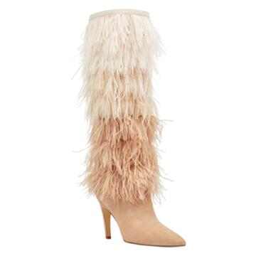 Nine West Nine West Questforu Boots With Feathers