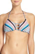 Women's The Bikini Lab Reversible Bikini Top